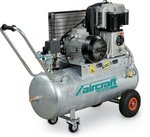 Chaudière à compresseur d'huile galvanisée avec entraînement par courroie 10 bar - 100 litres à 99 kg