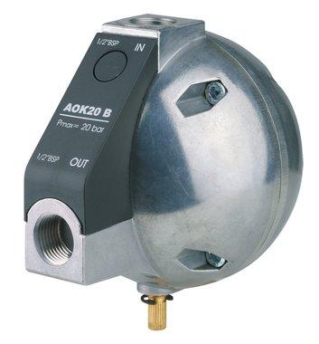 Purgeur de condensat automatique controle de niveau