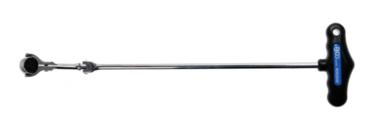 Cliquet articulé avec poignée en T, inclinable 6,3 mm (1/4)