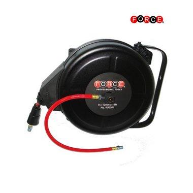 Enrouleur de tuyau d'air à réenroulement automatique (5 / 16x15M)