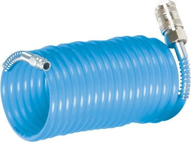 Tuyau d'air spirale standard 7,5 meter - 8 bar