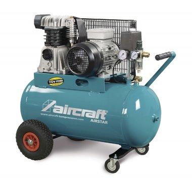 Compresseur d'huile à courroie 2 cyl 10 bar - 200 litres