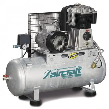 Compresseur à piston 4kw - 10 bars - 270 l - 520l/min