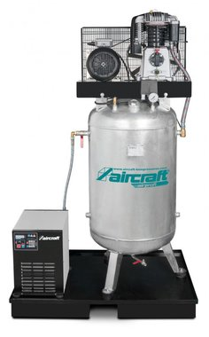 Compresseur d'air 15 bar - 270 liter -745x652x1.860mm