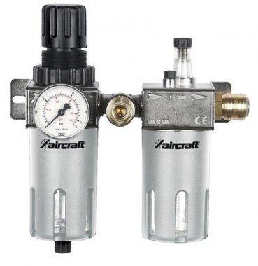 Filtre / régulateur de pression + lubrificateur 1/2